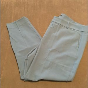 🍁NWT J Crew Light Blue Ankle Trousers🍁